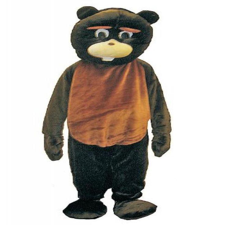 Beaver Mascot Costume Set - Adult