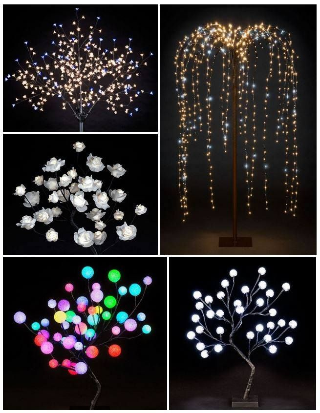 Purchase Connectable Colour Changing LED lights from Christmas Trees