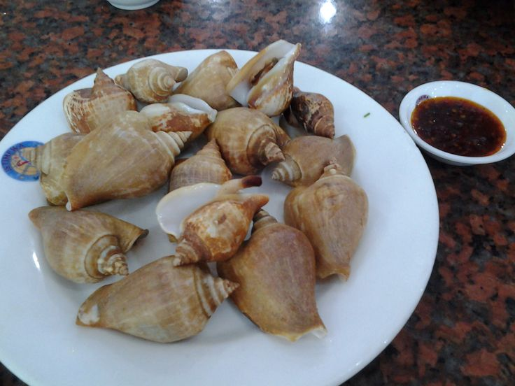 Gong Gong, seafood originally from Batam, Indonesia