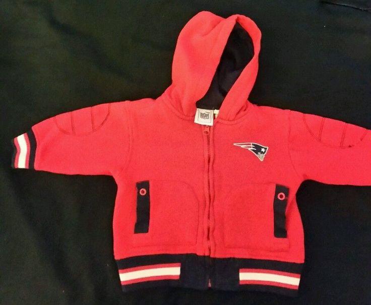 New England Patriots Logo Jacket NFL BOYS 18 MONTHS  #NFL #NewEnglandPatriots