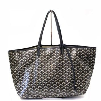 Goyard Saint Louis Gm Canvas Gray And Rare Black Tote Bag. Get one of the hottest styles of the season! The Goyard Saint Louis Gm Canvas Gray And Rare Black Tote Bag is a top 10 member favorite on Tradesy. Save on yours before they're sold out!