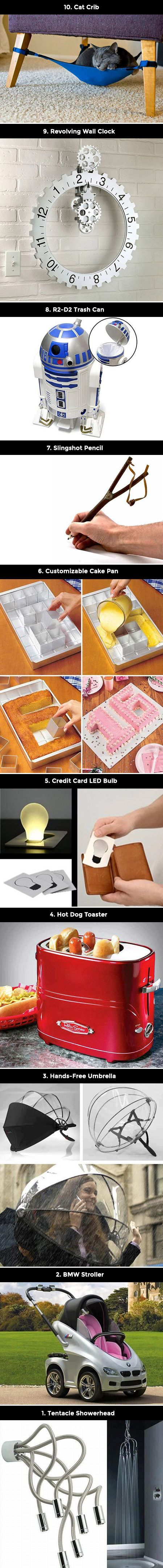 Here are 10 innovative product ideas that you will not believe actually exist.