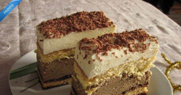 Ciasto kawowo-śmietankowe