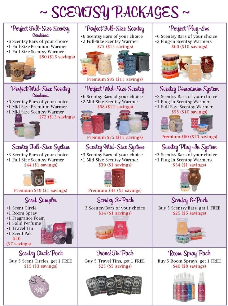 Want to save money on Scentsy Products? Shop in the Combine and Save section for great deals!