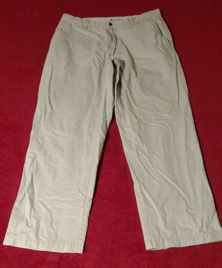 Columbia Sportswear Men's Stonewashed Granite Cloth Outdoor Pants Size 34 #Columbia #CasualPants