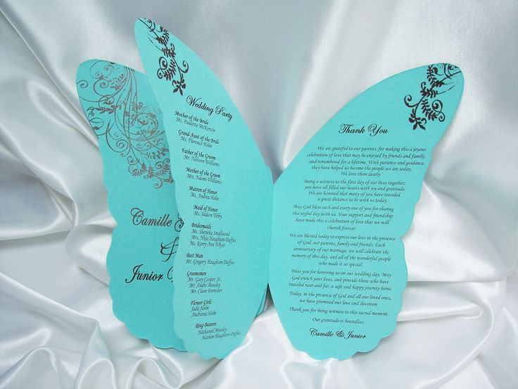 Wedding Butterfly Invitations: 25+ Best Ideas About Butterfly Wedding Invitations On