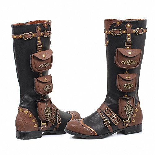 Best Pump Shoes | Ellie 181SILAS Womens Sexy Comfortable 1 Inch Womens Steam Punk Boot BLK Size  11 >>> You can get more details by clicking on the image. Note:It is Affiliate Link to Amazon.