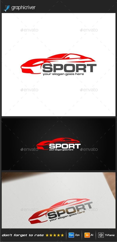 Car Sport Logo Templates — Vector EPS #design #logo design • Available here → https://graphicriver.net/item/car-sport-logo-templates/9606764?ref=pxcr