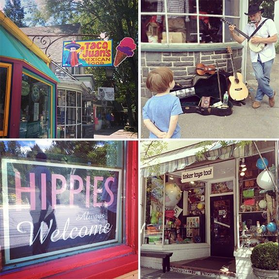 A CUP OF JO: Vacation photos: Woodstock, NY. More Hudson Valley travel tips, including Rhinebeck farmers market.
