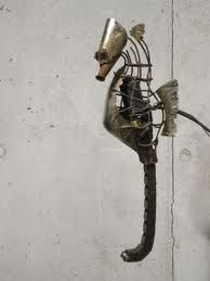 arte da oggetti riciclati