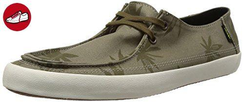 Vans M RATA VULC  (PALM LEAF) STO, Herren Sneakers, Beige ((Palm Leaf) sto / DTE), 45 EU (10.5 Herren UK) (*Partner-Link)