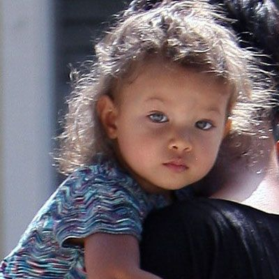 Nahla Aubry Gorgeous Mixed Baby Babies Pinterest