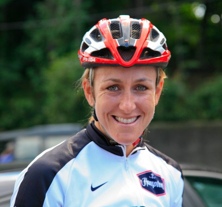 pro cyclist--Kristin Armstrong  professional road bicycle racer and three-time Olympic gold medalist, the winner of the women's individual time trial in 2008, 2012 and 2016. #women'scyclegear