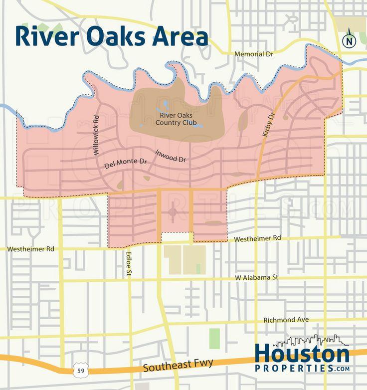 River Oaks Houston Homes Real Estate Neighborhood Guide River Oaks Houston Houston Map Neighborhood Guide