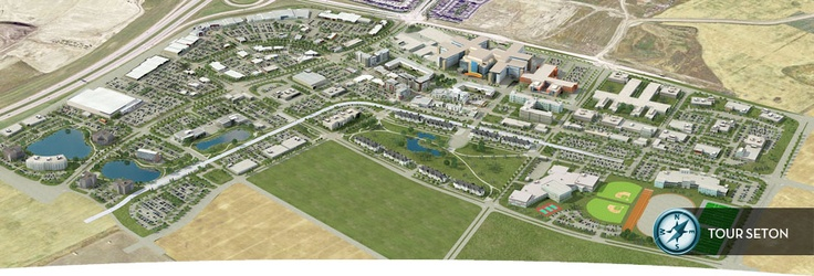 Seton is a hub for business and life in a dynamic, growing region of Calgary. Set just off the Deerfoot Trail, south of Highway 22X, and at the heart of Calgary's fastest growing region. In addition, there will be excellent access to Calgary's new ring road.   www.setonurbandistrict.com