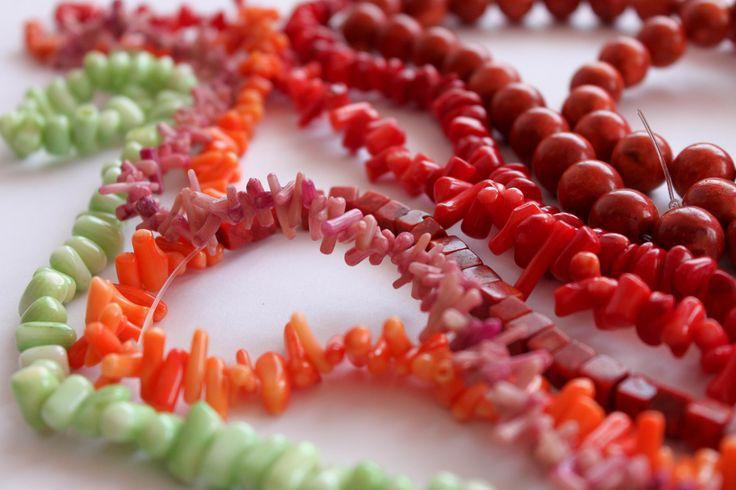 biżuteria koral - Google Search