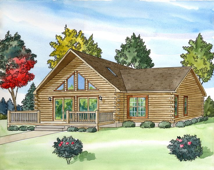 1000 ideas about log cabin modular homes on pinterest for New home builders prices