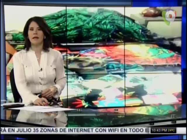 DNCD Interviene Tienda En Santiago Por Promocionar Consumo De Marihuana #Video
