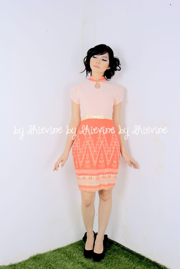 Daisy Ikat Dress | DhieVine | Redefine You