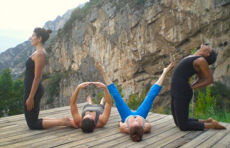 SOLE YOGA HOLIDAYS- Positano Paradise in Positano - A heart for yoga. #yoga #love #retreat