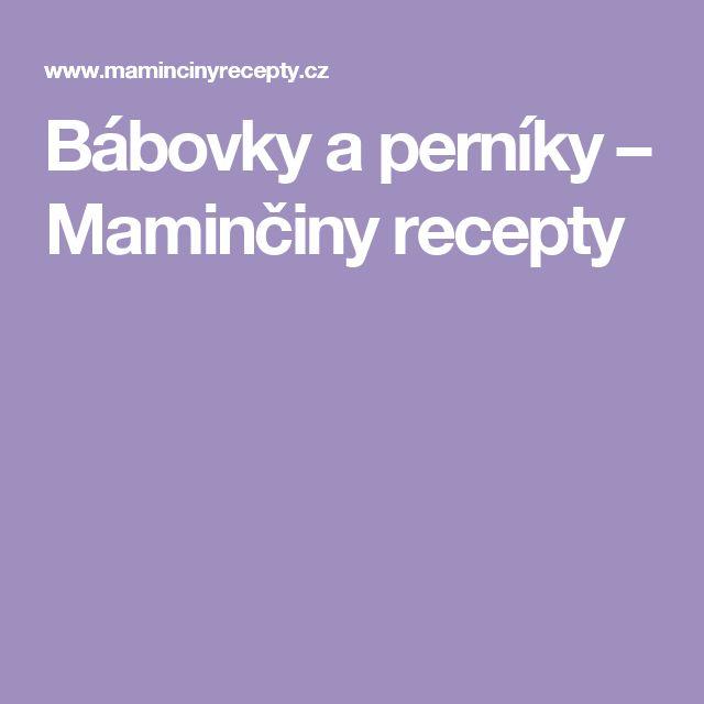 Bábovky a perníky – Maminčiny recepty