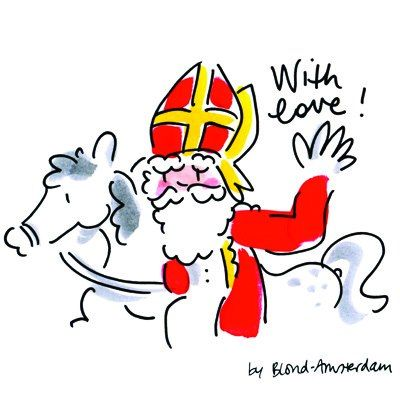 Sinterklaas. Love it. It's the best tradition in the world!