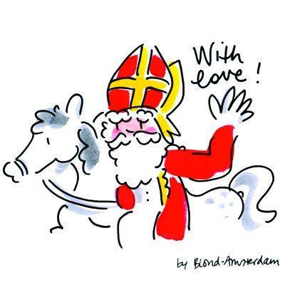 Sinterklaas. Love it. It's the best tradition in the world!