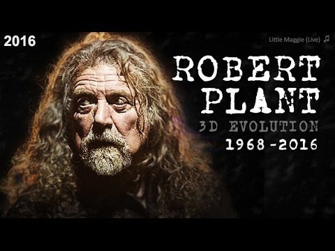 The evolution of ROBERT PLANT year by year (Live 3D). HOW HAS CHANGED ROBERT PLANT YEAR AFTER YEAR, IN EVERY AGE?