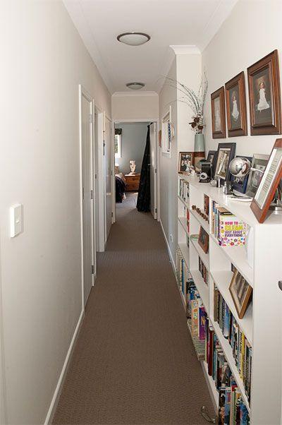 Resene Half Thorndon Cream on hall walls