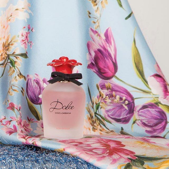 Dolce Rosa Excelsa is one of the distinctive floral scents of the Dolce garden. #DGDolcerosa #DGBeauty
