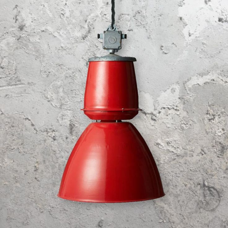 reclaimed lighting. large red pendant light clb00497 product e2 contract lighting reclaimed