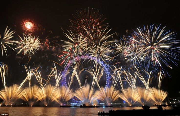 Be in London for New Years Eve and see the fireworks over the Thames