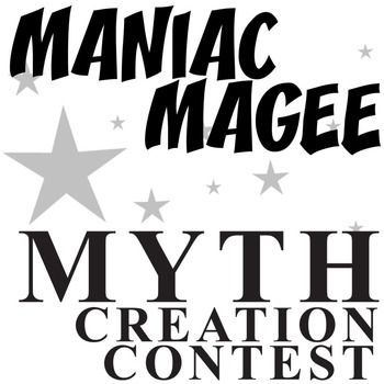 FREE Maniac Magee activity seekers will love this Myth Creation Contest. After reading the legend of Cobbles Knot and what happens with it, learners will engage in a creative writing contest. They will think about something on their school campus or in their town and make a tall tale myth about it, a legend about its history and fame.