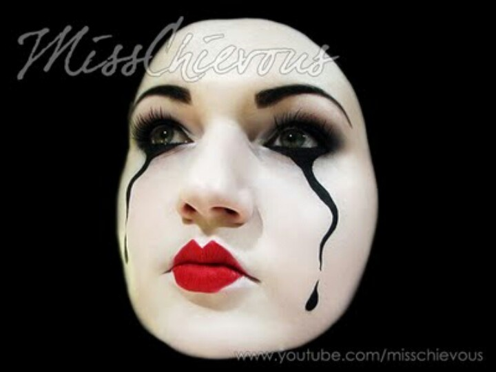 24 Best Mime Images On Pinterest | Mime Makeup Halloween Ideas And Halloween Makeup