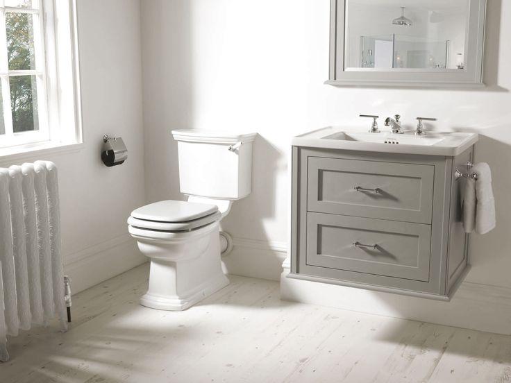 Monobloc toilet / free-standing / ceramic RADCLIFFE IMPERIAL BATHROOMS