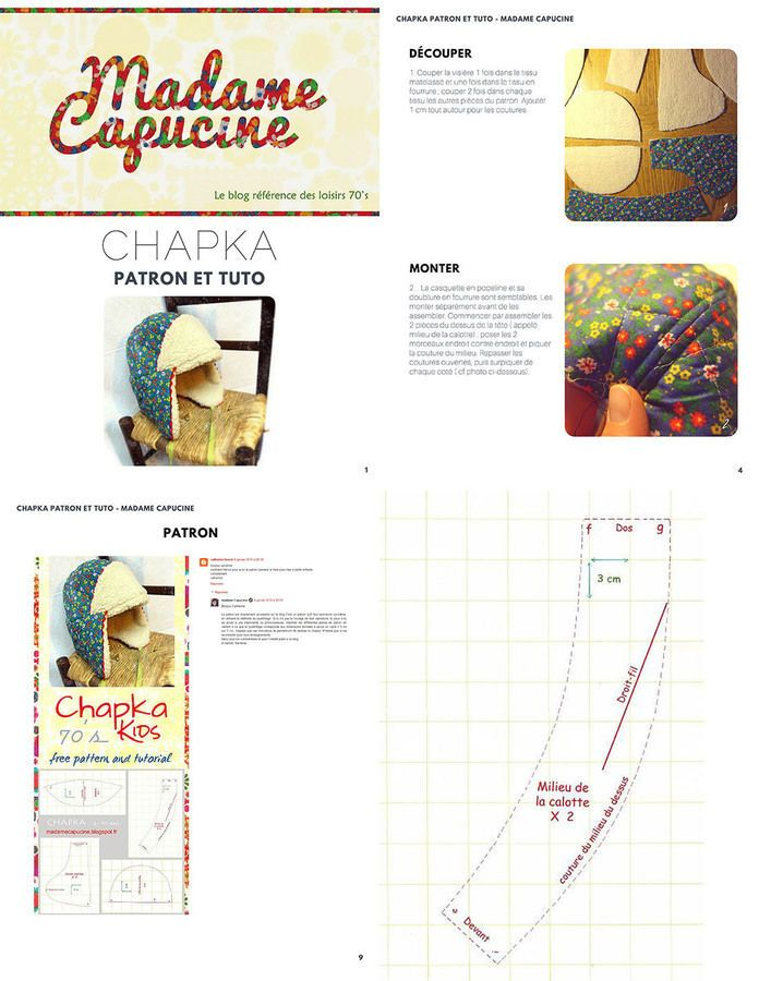 51 best Diy chapeau images on Pinterest | Proyectos de costura ...