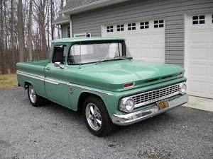 1963 Chevy Pick-up 1/2 ton.  I had one of these.