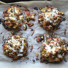 This may be the most delicious Vegetable Stuffed Portabella Mushrooms recipe! Healthy, easy and incredibly tasty! A Taste Love & Nourish reader favorite!