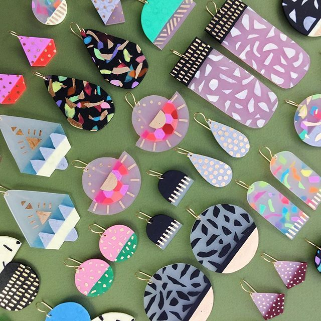 So many new earrings have just arrived in Castlemaine @cornerstoremerchants ⚡️