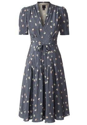 Orla Keily - a vintage 1940s style dress. Simple, lovely, would look great in rayon