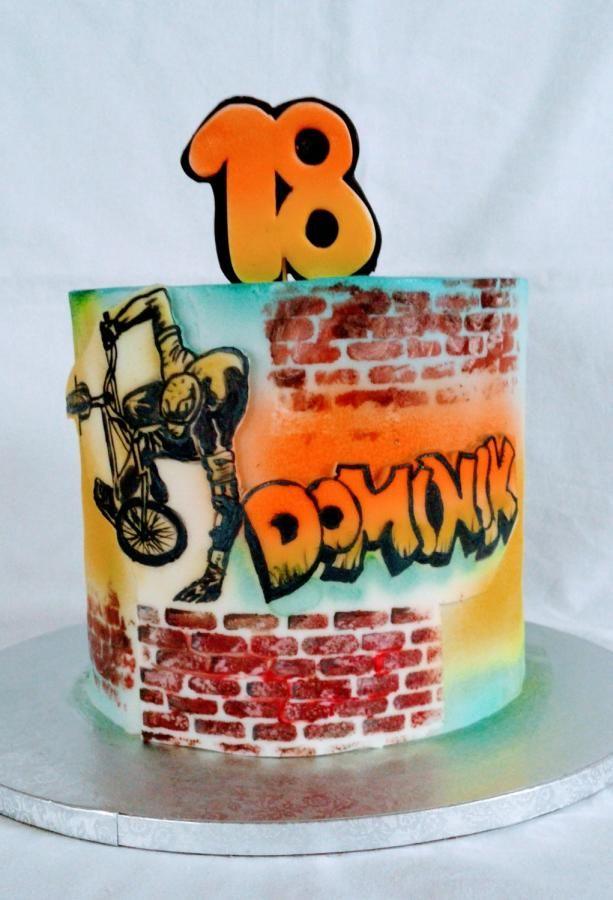 Bicicross BMX - cake by alenascakes