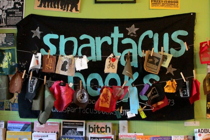 Since 1973, Spartacus Books is a nonprofit, volunteer-run bookstore and resource centre located on the edge of Vancouver's Downtown Eastside. The store has been successfully run for over 35 years by a collective of volunteers, despite a 2004 fire at its old location on West Hastings Street.    Spartacus has an unparalleled selection of academic and scholarly publications including journals and books and hard-to-find publishers that aren't available anywhere else in Vancouver.