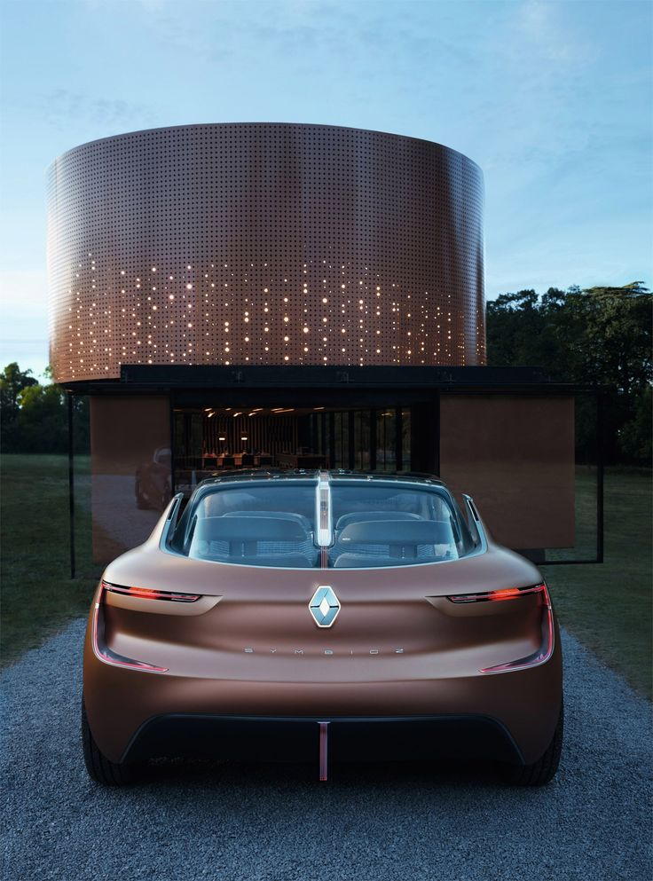 """""""As designers for Groupe Renault, our job is to imagine what role cars will play in the future and integrate them into its ecosystem,"""" said senior designer Tina Kentner.  """"We therefore set out to build part of this ecosystem – a family home – and let our customers experience this home at an international motor show. That's a first."""""""