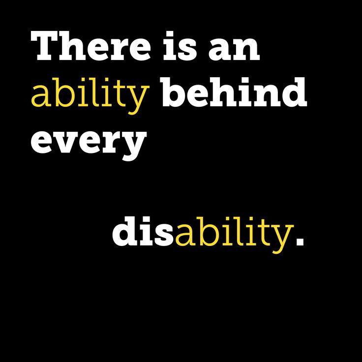 essay on disability is not an inability Social work - children with learning disabilities since learning disability is not a disease but possibly a in specific tasks leading to inability to.