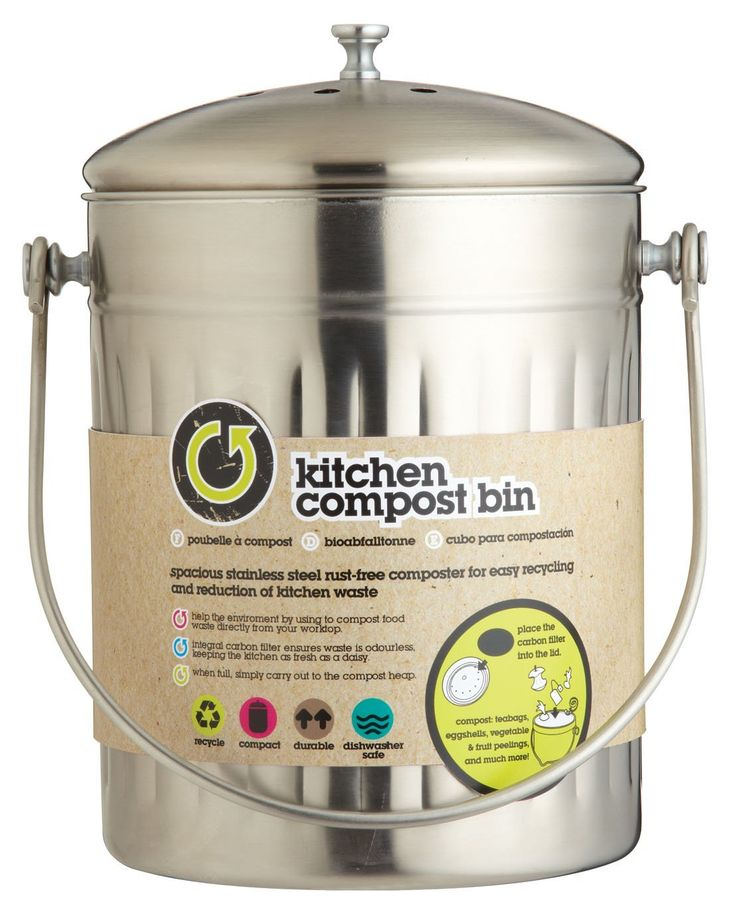 17 best ideas about poubelle de cuisine on pinterest - Poubelle a compost d interieur ...
