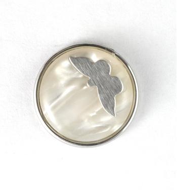 Noosa Amsterdam chunk BUTTERFLY. Deze chunk staat voor een positief symbool van schoonheid - NummerZestien.eu