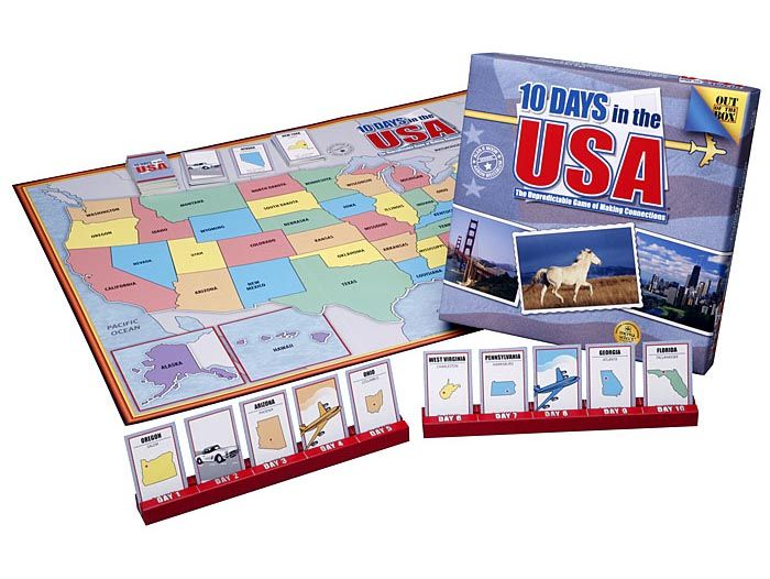 educational board game usa geograghy