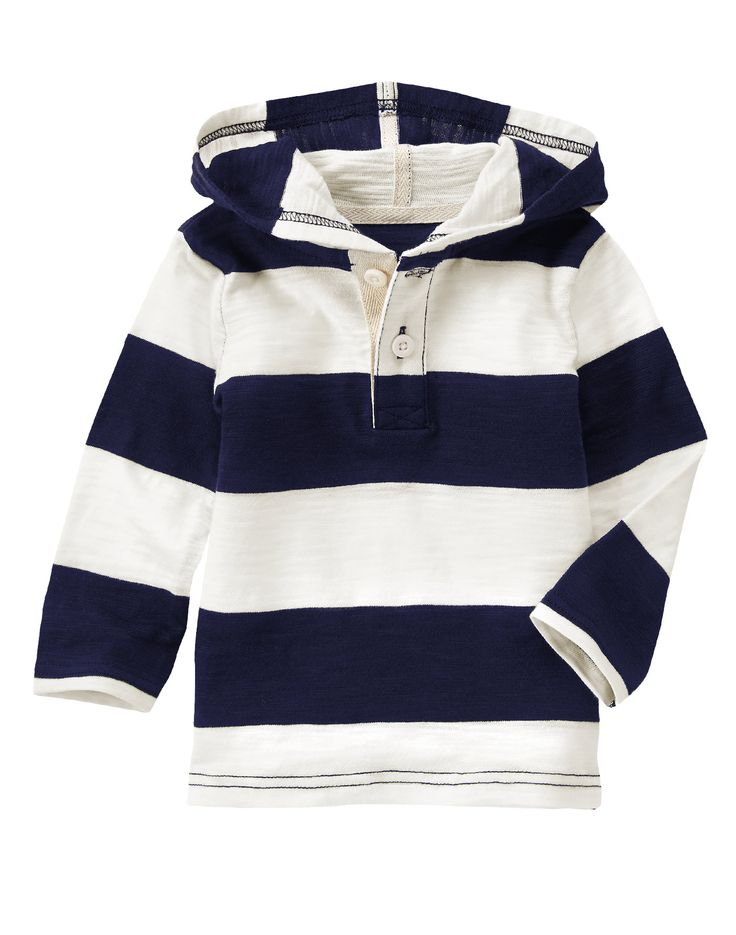 Hooded Henley at Gymboree (Gymboree 6m-5t)