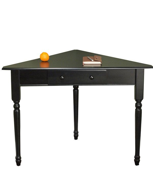 Take a look at this Black Corner Desk on zulily today!