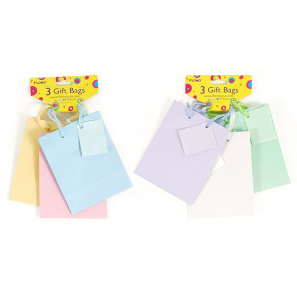 4 1/2W x 5 3/4H x 2 1/2G Small Pastel mixed Matte Gift Bags with header in 2 groups/Case of 120 Tags:  Gift Bags; Gift Bags; Gift Bags;Gift Bags;;; https://www.ktsupply.com/products/32795331050/4-12W-x-5-34H-x-2-12G-Small-Pastel-mixed-Matte-Gift-Bags-with-header-in-2-groupsCase-of-120.html